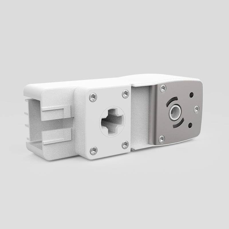 AT0822单电机天棚帘主传动箱(十字杆)